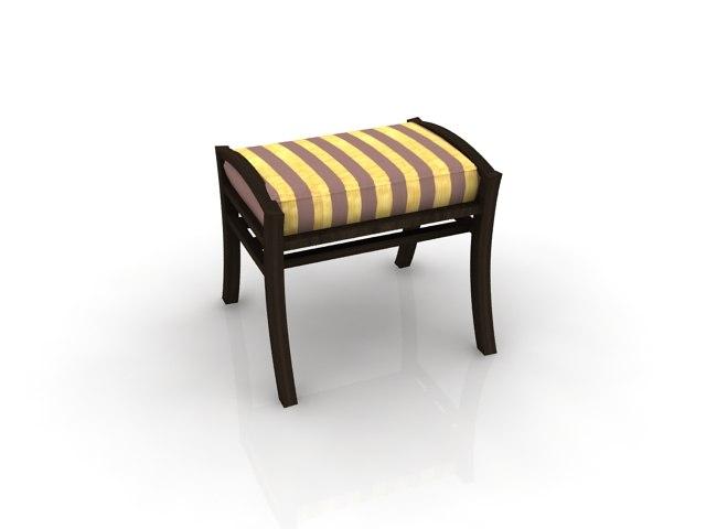 atlantis stool sofa sets 3d 3ds