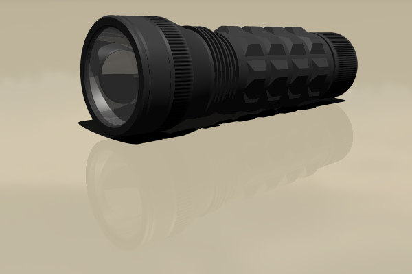 tactical light m6 3d 3ds