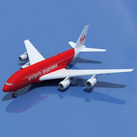 Virgin Express Model Airbus A380