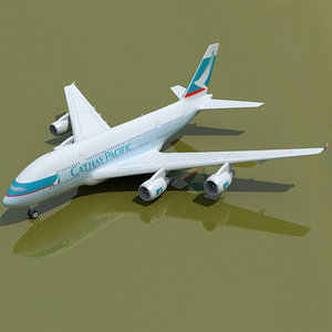 3d airbus a380 pacific