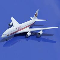 max airbus a380 thai