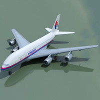 airlines airbus a380 3d 3ds
