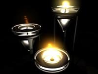 glass candle holders ma