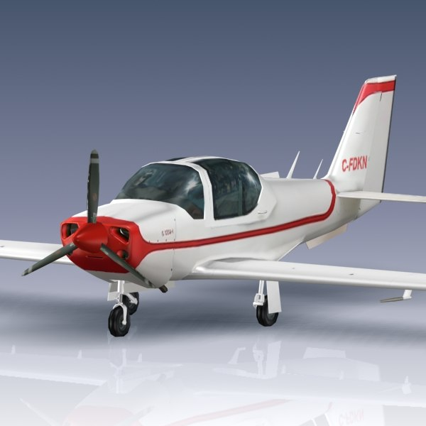 grob 120a 3d model