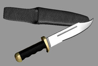 knife sheath 3d model