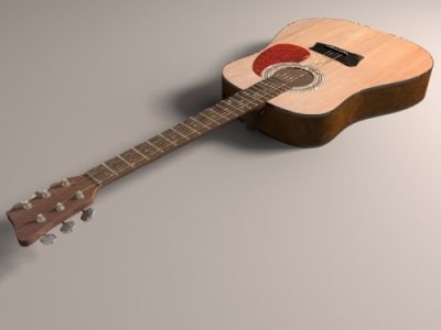 lwo acoustic guitar