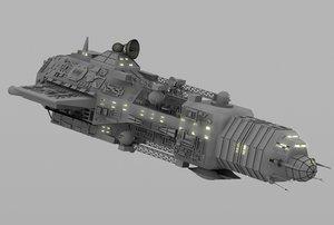 lwo gunship pirate ship