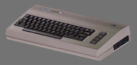 3d model commodore 64