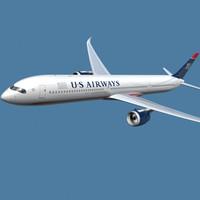 a350-1000 airways 3ds