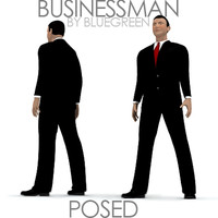 businessman posed max