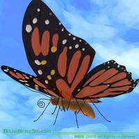 butterfly cartoon 3ds
