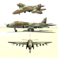 cas fighter 3d model