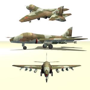 cas fighter 3d model