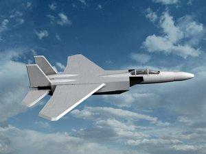 3d f-14 jet fighter