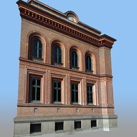 modular facades 3d fbx