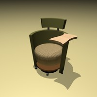 hello lounge chair 3d max