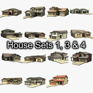 house set 3d model