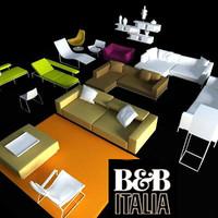 b italia 3d model