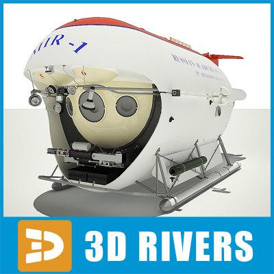 3d submarine mir-1 mir