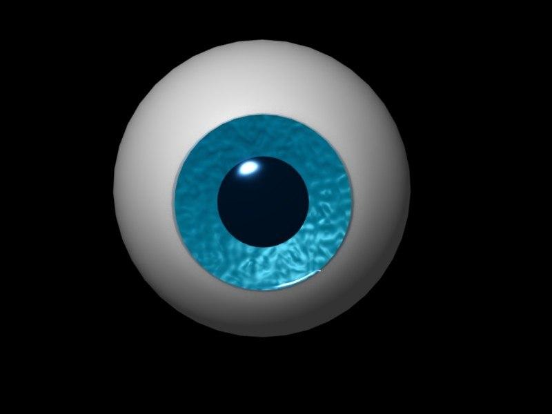 blend cartoon eye