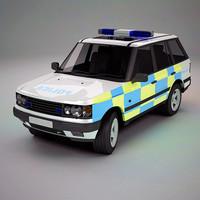 3d model suv uk police