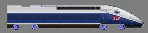 tgv duplex 9008 3d model