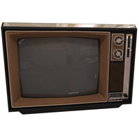 80s Television set