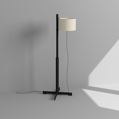 maya contemporary floor lamp