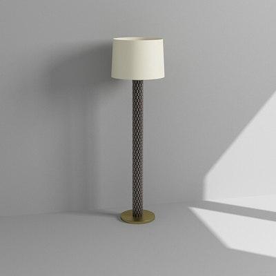 3d contemporary floor lamp model