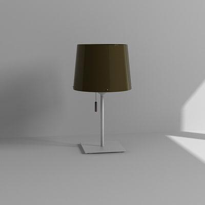 3d model bedside lamp
