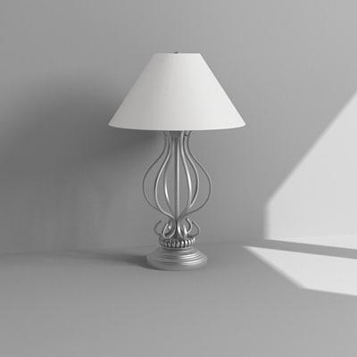 3d bedside lamp