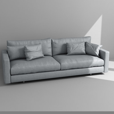 3d sofa armchair model