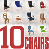 3d chairs maxwell