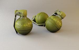 fragmentation grenade max