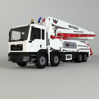 waitzinger 47 m5 st 3d model