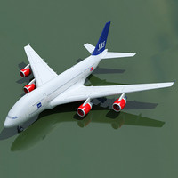 3ds max airbus a380