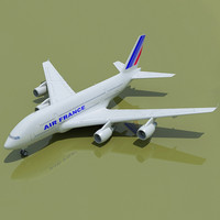 airbus a380 air france obj