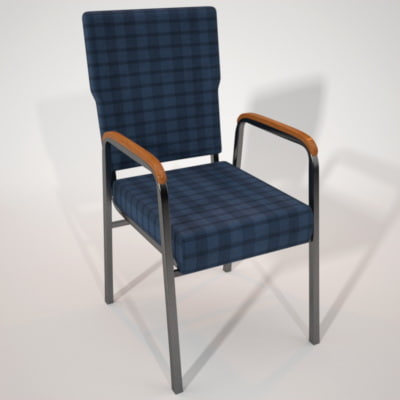 3d chair maxwell model