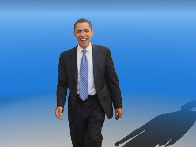 president barack obama 3d model
