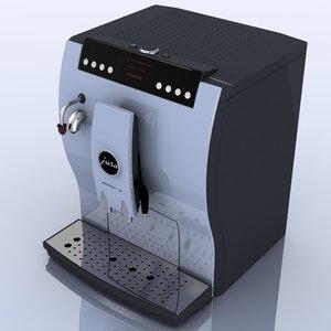3d coffeemaker jura impressa z5