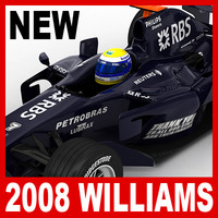 2008 williams toyota fw30 3d lwo