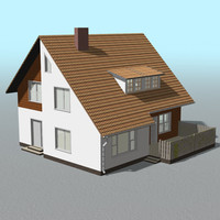 house building home 3d model