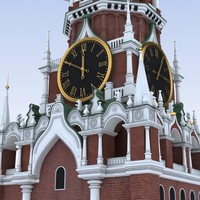 max moscow kremlin spasskaya tower