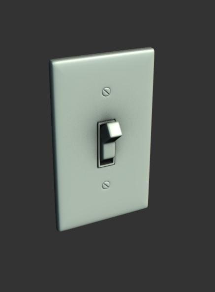 wall light switch x