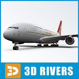 3ds red logo airbus a380