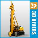 Boring machine 01 by 3DRivers