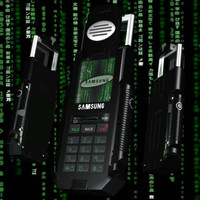 matrix phone 3d model