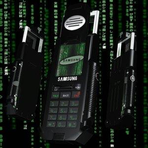 matrix phone 3d model