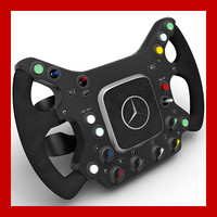 McLaren Steering Wheel Replica