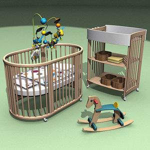3d nursery equipment